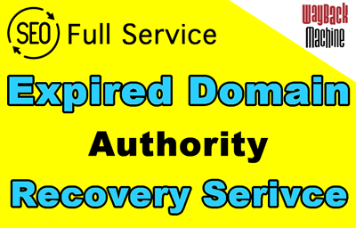 expired domain recovery service